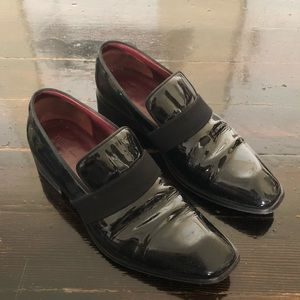 Celine Patent Leather Loafers